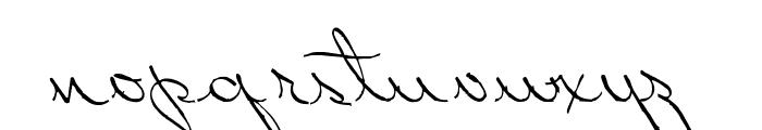 PerhapsLove Font LOWERCASE