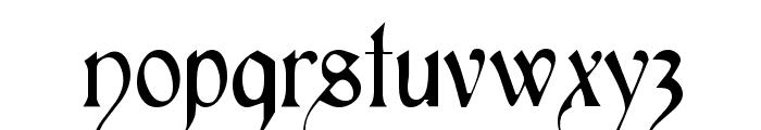 Perigord Font LOWERCASE