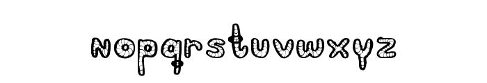 PeriquitoRegular Font LOWERCASE
