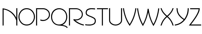 Perisphere Font UPPERCASE