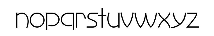 Perisphere Font LOWERCASE