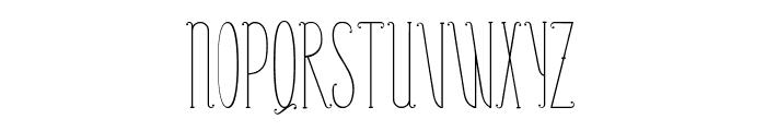 PerleDeRosee-Condensed Font UPPERCASE