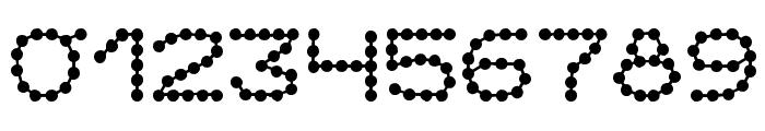 Perlenkette Font OTHER CHARS