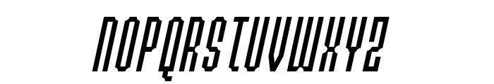 Permanent daylight Italic Font UPPERCASE