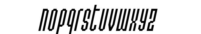 Permanent daylight Italic Font LOWERCASE