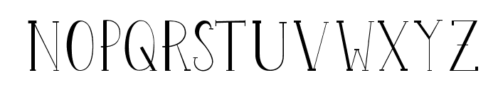 Perset-Display Font UPPERCASE
