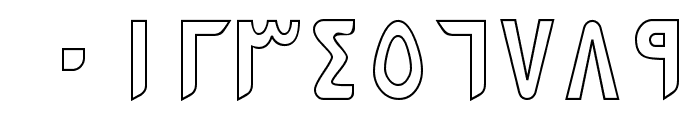 PersianKufiOutlineSSK Font OTHER CHARS