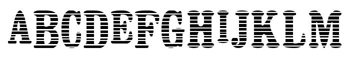 Persiana Font UPPERCASE