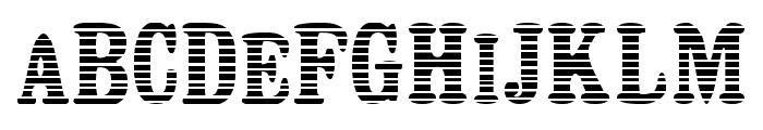 Persiana Font LOWERCASE