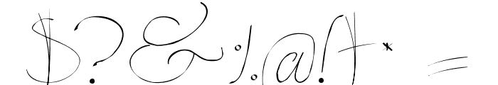 Persifal Pen Font OTHER CHARS