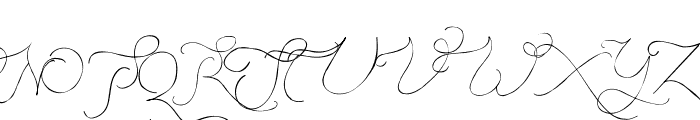 Persifal Pen Font UPPERCASE