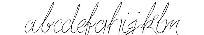 Persifal Pen Font LOWERCASE