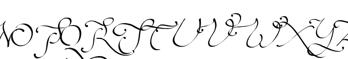 Persifal Font UPPERCASE