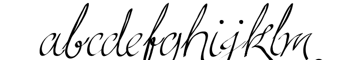 Persifal Font LOWERCASE
