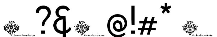 Personalitype Demo Regular Regular Font OTHER CHARS
