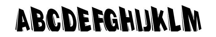 Perspection-HeavyA Font UPPERCASE