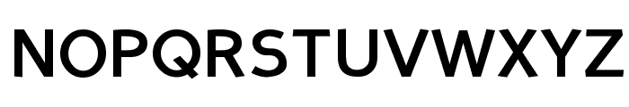 Perspective Sans Bold Font UPPERCASE