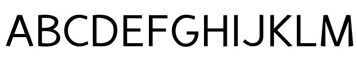 Perspective Sans Font UPPERCASE