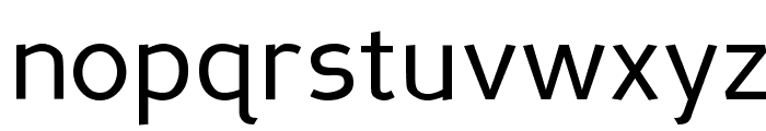 Perspective Sans Font LOWERCASE