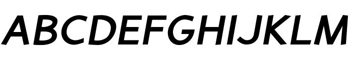 PerspectiveSans-BoldItalic Font UPPERCASE