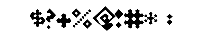 Perturb the Outline Diagonal Font OTHER CHARS