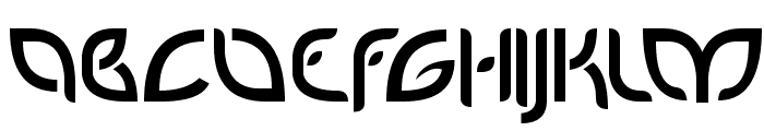 PetalGlyph Font UPPERCASE