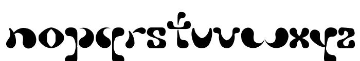 Petal Font LOWERCASE