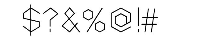 Petek Font OTHER CHARS