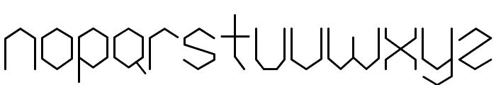 Petek Font LOWERCASE