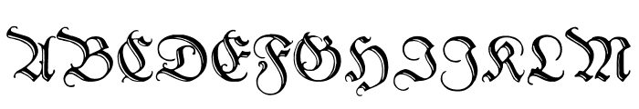 PeterSchlemihl Font UPPERCASE