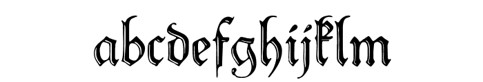 PeterSchlemihl Font LOWERCASE