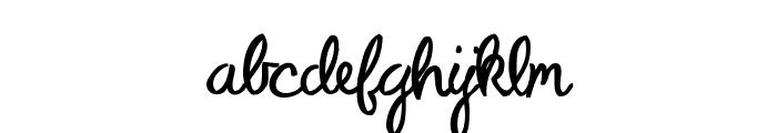 Peterbuilt Font LOWERCASE