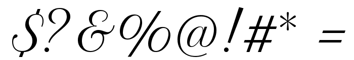 Petit Formal Script Font OTHER CHARS