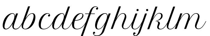 Petit Formal Script Font LOWERCASE