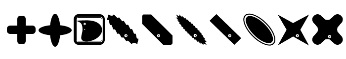 PetitButtoni Font OTHER CHARS