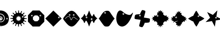 PetitButtoni Font LOWERCASE
