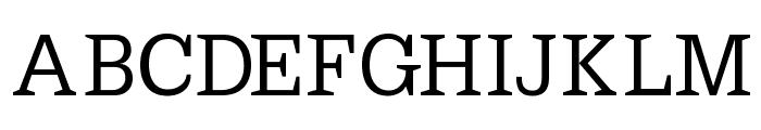 PetitLatin Font UPPERCASE