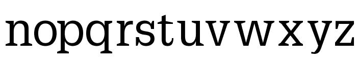PetitLatin Font LOWERCASE