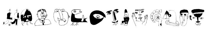 PetitSketches Font LOWERCASE