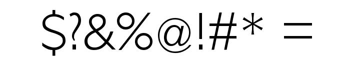 PetitaLight Font OTHER CHARS