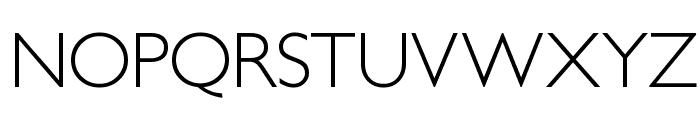 PetitaLight Font UPPERCASE