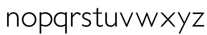 PetitaLight Font LOWERCASE
