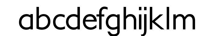PetitaMedium Font LOWERCASE