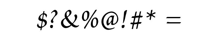 Petitscript-Italic Font OTHER CHARS