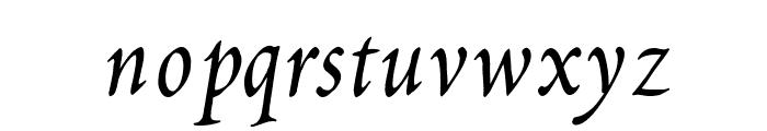 Petitscript-Italic Font LOWERCASE