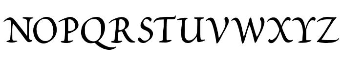 Petitscript Font UPPERCASE