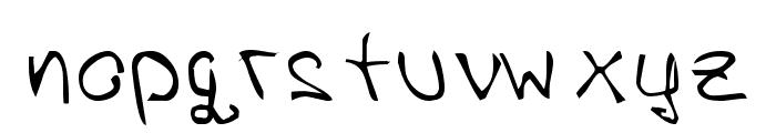 Petra Bakija Font LOWERCASE