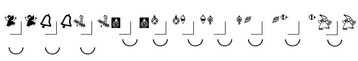 PetrasBauhausXmas Font OTHER CHARS