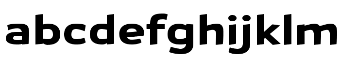 Petrol-Regular Font LOWERCASE