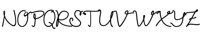 Petunia Font UPPERCASE